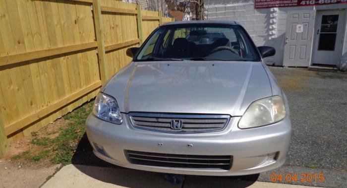 00 Honda Civic Special Edition**154K*Runs Excllt* Very Clean*$2200