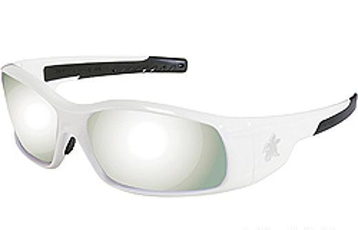 $11.50**NEW ARRIVAL**WHITE FRAME SILVER MIRROR LENS**SWAGGER GLASSES**