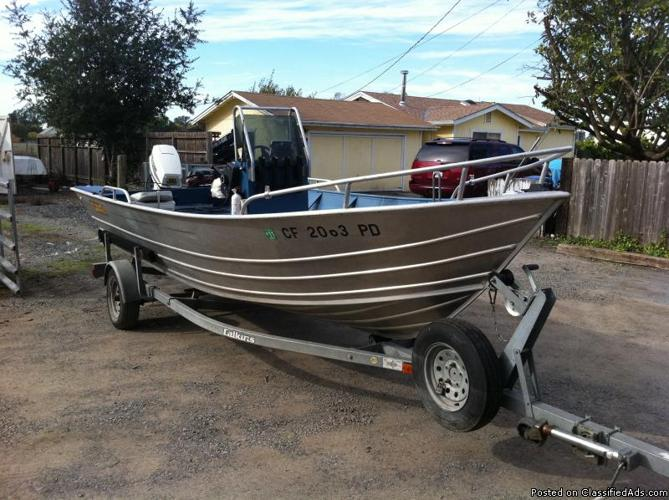 18 ft Klamath, 50 hp Johnson