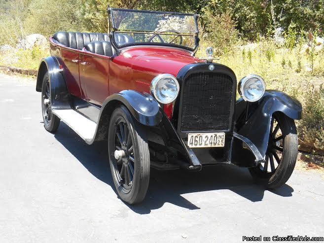 1925 dodge bros touring car convertible w suicide doors for sale in