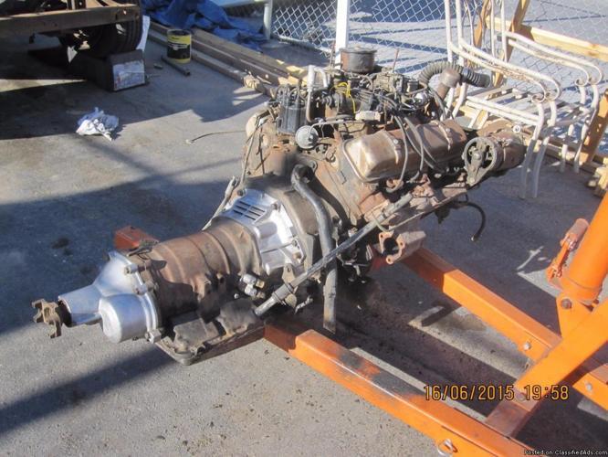 1957 58 Olds Engine & Trans