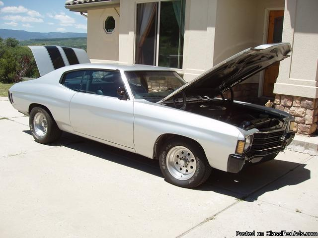 1972 Chevelle SS (Modified Race Car-Street Legal)