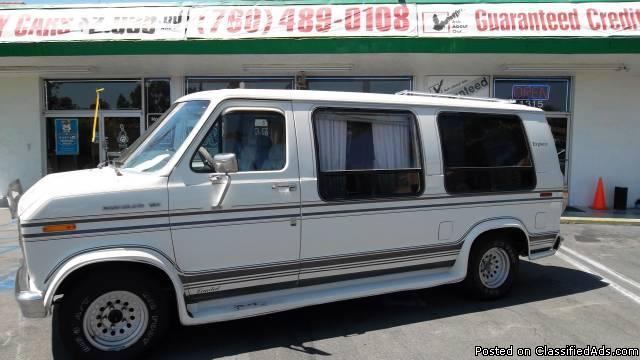 1989 FORD ECONOLINE **FRESH START MOTORS**GUARANTEED CREDIT APPROVAL** - Price: 3995