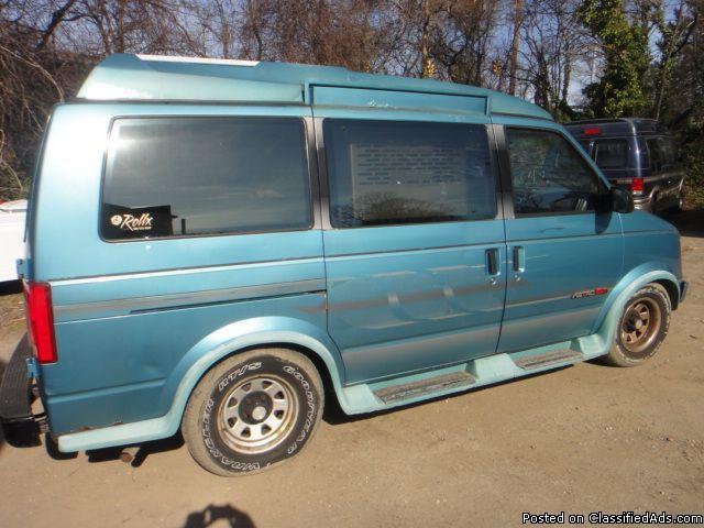 1992 Chevy Astro Handicap Custom Van with Wheelchair Lift