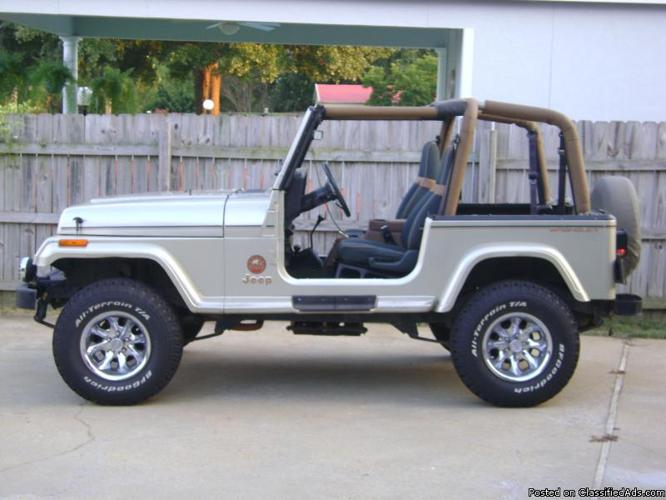 1992 Jeep Wrangler Quot Sahara Quot Price 7800 00 For Sale In