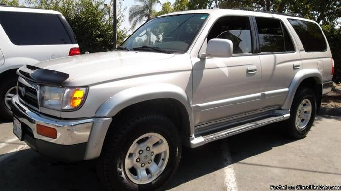 1998 TOYOTA 4 RUNNER LIMITED - Price: CALL
