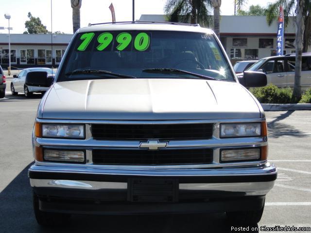 1999 Chevrolet Suburban 1500 - Low Price, Ready To Roll! - Price: $7,990