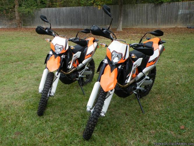 2 2010 ktm 690cc enduro r dual sport motorcycles for sale