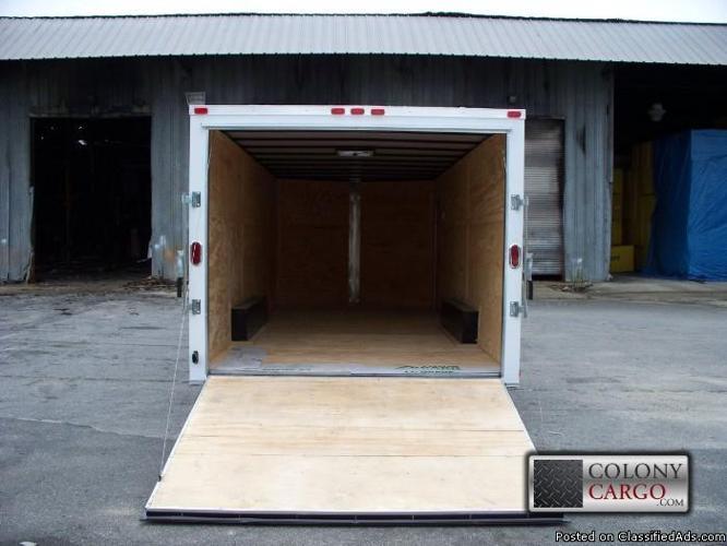 20 foot car hauler / enclosed trailer / all tube frame