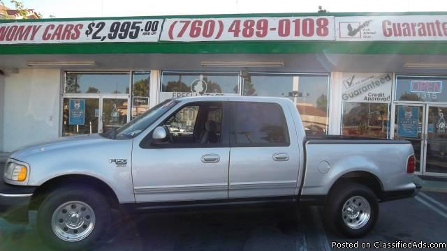 2001 FORD F150 XLT**FRESH START MOTORS**GUARANTEED CREDIT APPROVAL** - Price: 9995