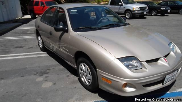 2001 PONTIAC SUNFIRE**FRESH START MOTORS**GUARANTEED CREDIT APPROVAL** - Price: 4999
