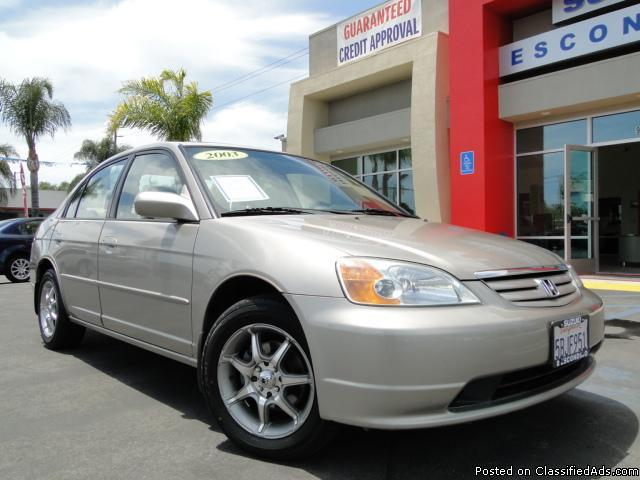 2003 Honda Civic - Under $9,000! - Price: call