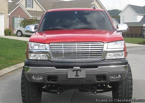 2003 Power seat Chevrolet Silverado z71 lifted 37's FOR SALE at 1500 us