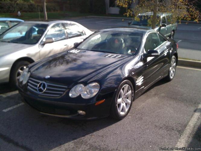 2003 SL Mercedes Benz