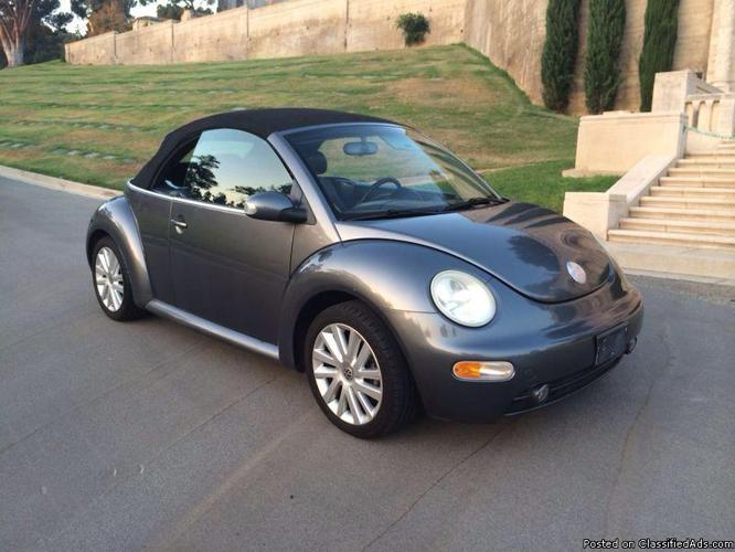 2004 Volkwagon Beetle 2.0 turbo convertable