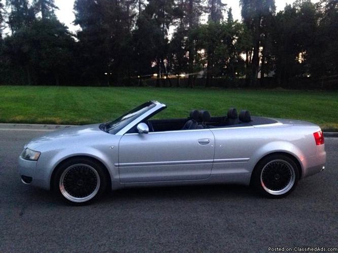 2005 Audi S4 Convertable