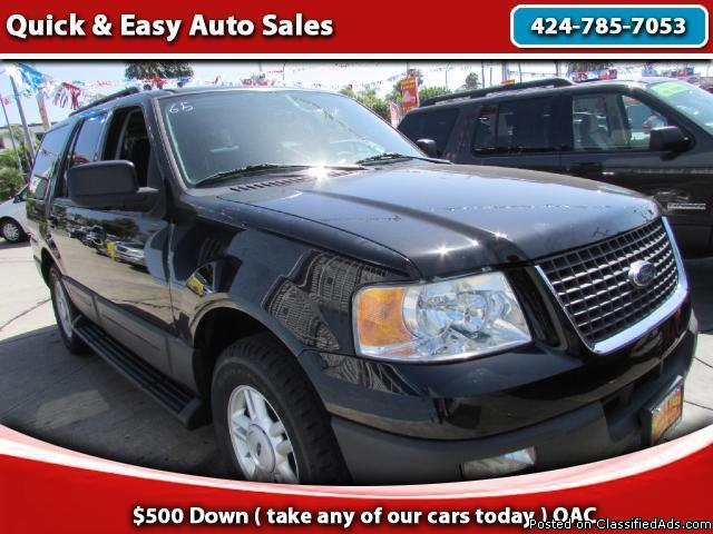 2005 Ford Expedition XLT !We Finance Your Downpayment!!As Low As $499