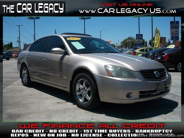 2005 NISSAN ALTIMA S ... FINANCE SPECIALIST AT THE LOT