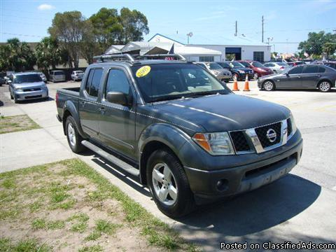 2005 NISSAN FRONTIER STARTING 2,000 DOWN PAYMENT CALL NOW MAGGIE