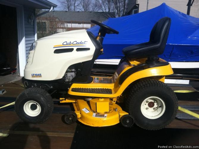 2006 7 cub cadet lt1045 lawn tractor price 125000 obo for sale 2006 7 cub cadet lt1045 lawn tractor price 125000 obo freerunsca Images