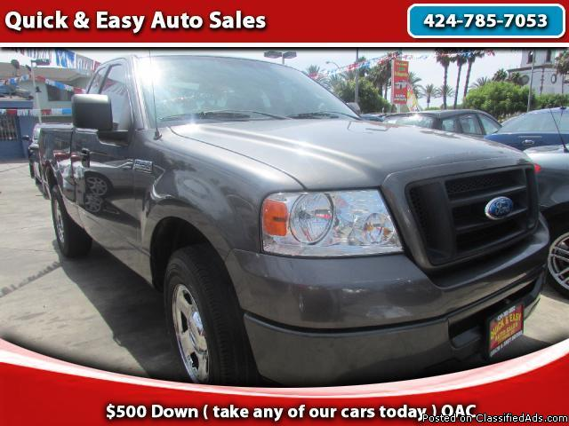 2006 Ford F150 XLT Long Bed!!Super Low Mileage!AS Low As 499 Down