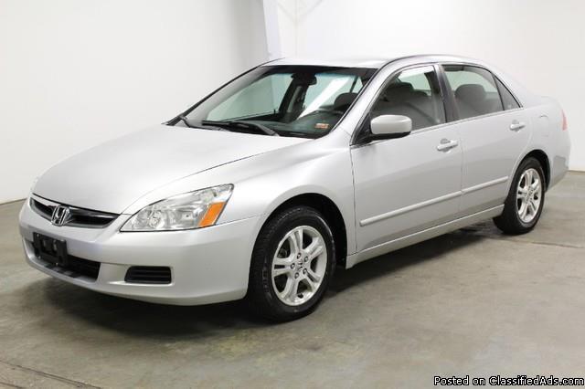 2006 Honda Accord EX V-6 $3000