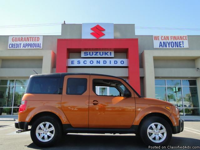 2007 Bronze Honda Element - Manual AWD! - Price: call