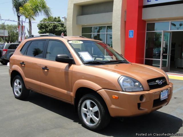 2007 Hyundai Tucson - Lots of Space, Great Gas Mileage! - Price: call