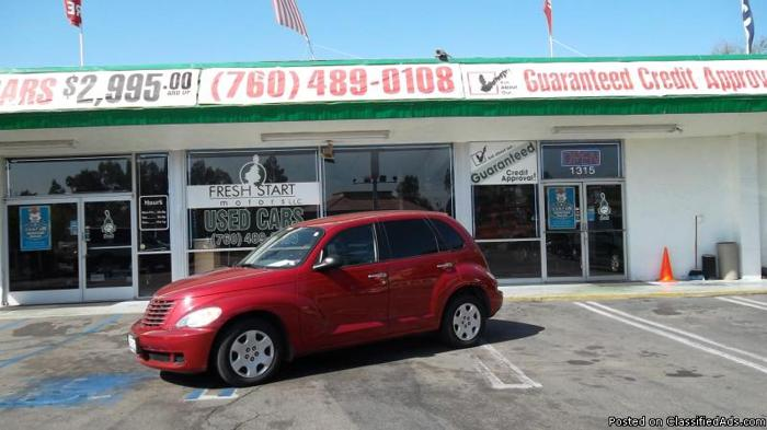 2007 PT CRUISER**NO CREDIT? NO PROBLEM! - Price: 7777