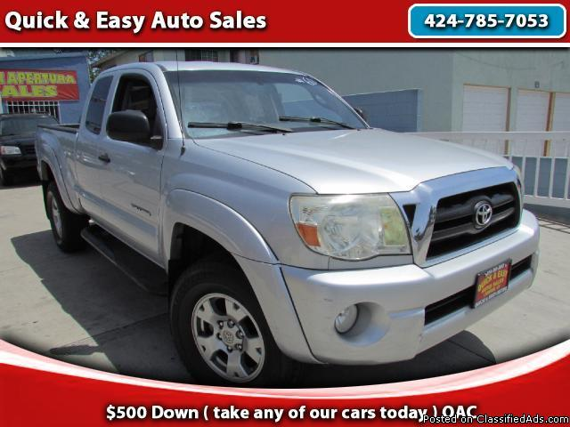 2007 Toyota Tacoma !!Your Job Is Your Credit !!Only $499 Down(oac)!! (Bad Credit,Charge off,Get Paid Cash!OKEY)