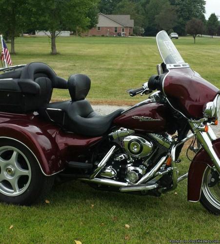 2008 Harley Davidson FLHX Street Glide Trike
