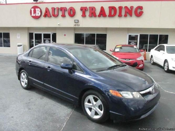 ?2008 Honda Civic blue REDUCED !!!!! $6,995 !!!!!