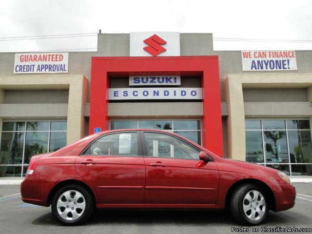 2009 KIA SPECTRA EX - Price: CALL