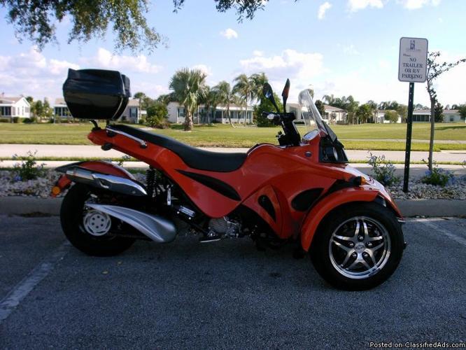 Kandi 250cc Spyder Motorcycle Trike 2010 Kandi Spyder Trike