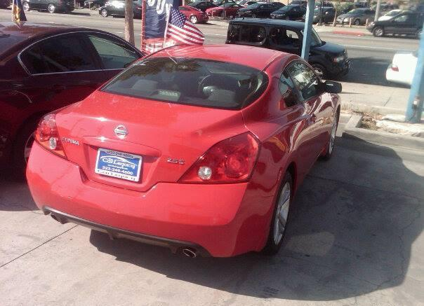 2012 Nissan Altima Coupe Red