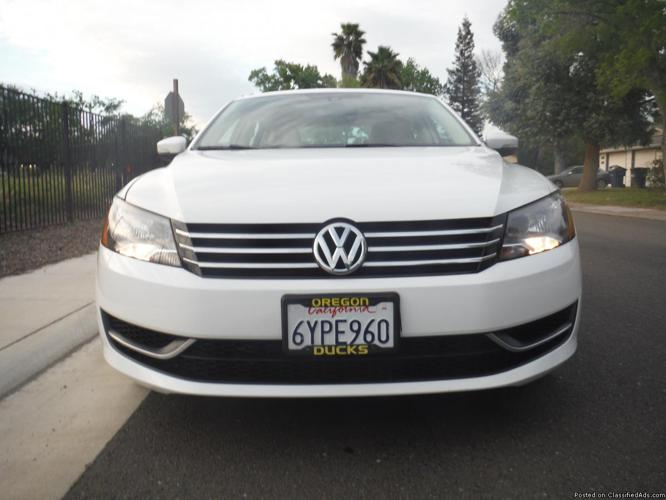 2013 Volkswagen Passat SE WHITE WITH 39K MILES