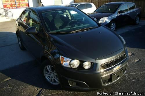 2014 CHEVROLET SONIC NO DEALER FEE LOW MONTHLY PAYMENT
