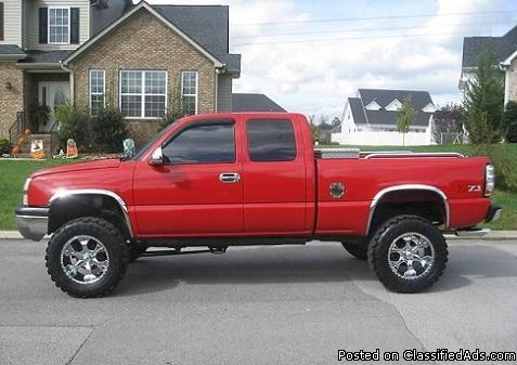 4 WHEEL DRIVE 2003 CHEVY SILVERADO 1500 LT Z71 TRUCK !!! for Sale !!! at 1500 US