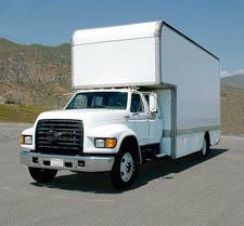 5-Ton Grip Truck - Crew Cab 1998 Ford Diesel - Price: Call 818-464-6828