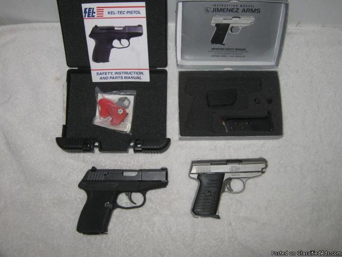 9mm Kel-Tec 380 Jimenez arms *Selling Both Together* - Price