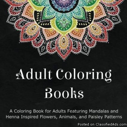Adult Coloring Books: