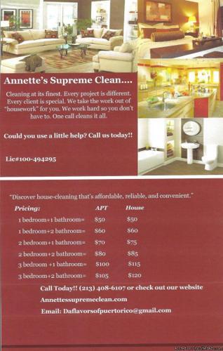 Annette's Supreme Clean