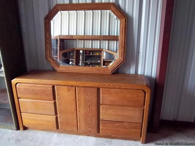 Arbek Expectations Contemporary Oak Dresser Mirror Price For Sale In Lake Worth