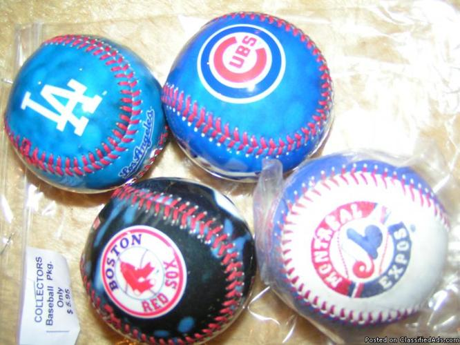 BASEBALLS, PHOTO, NATIONAL LEAGUES ETC. - Price: $ 5.95 A PKG.