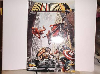 Best of MARVEL COMICS Softcover Book * NM * 1996