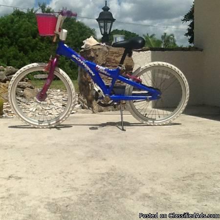 BMX BICYCLE, SCHWINN 20 PETAL PATCH 2.0 GIRLS