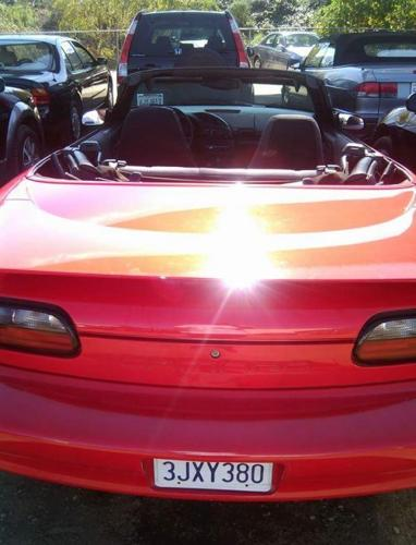 Camaro clean Convertible 1994 Low miles looks& runs great Cold AC must see