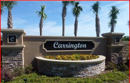 Carrington at Windermere, FL.