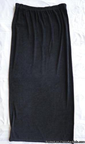 Chico's charcoal skirt