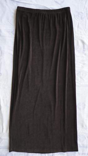 Chico's dark brown skirt